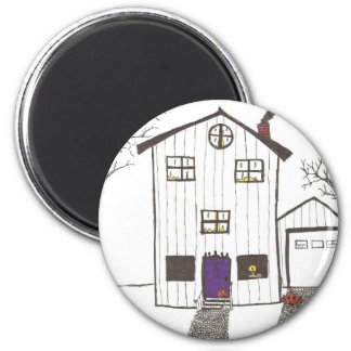 The Spooky House Refrigerator Magnets