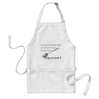 The Spoon Adult Apron