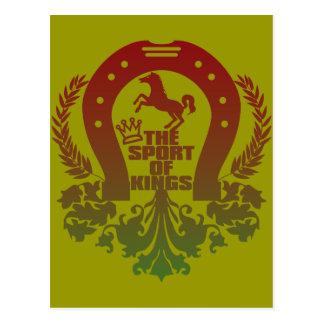 The_Sport_Of_Kings Postcard