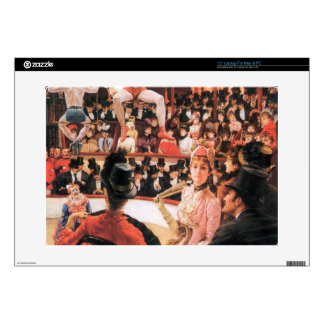 "The sporting women by James Tissot 15"" Laptop Skin"