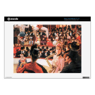 The sporting women by James Tissot Acer Chromebook Decals