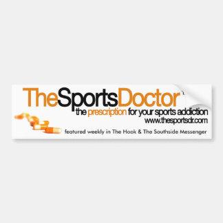 The Sports Doctor Bumper Sticker Car Bumper Sticker