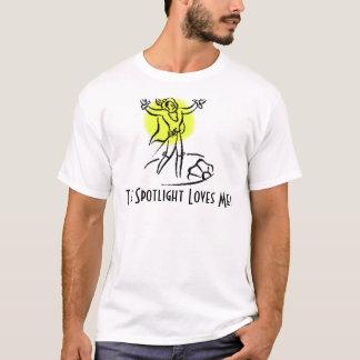 The Spotlight Loves Me! w/KBP on back T-Shirt