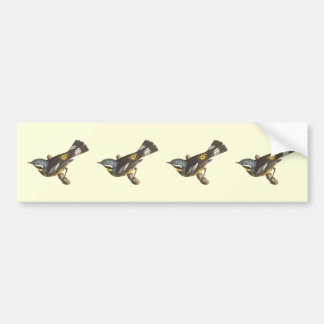 The Spotted Warbler(Sylvicola maculosa) Bumper Sticker