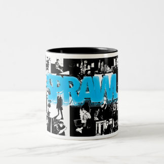 The Sprawl: Interior Art Two-Tone Coffee Mug