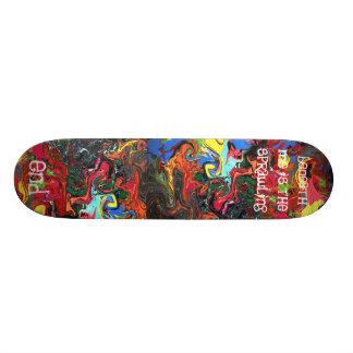 The Sprawling End Skateboard Deck