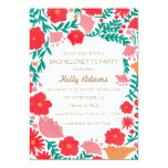 The Spring Flowers Bachelorette Invitation Party