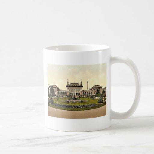 The Spring House, Bad Elster, Saxony, Germany rare Mug
