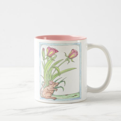The Spring Mouse Tulips Mugs