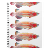 """The spring note 2 """"of Super Red Arowana"""" Notebook"""