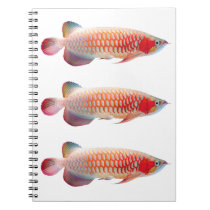 """The spring note """"of Super Red Arowana"""" Notebook"""