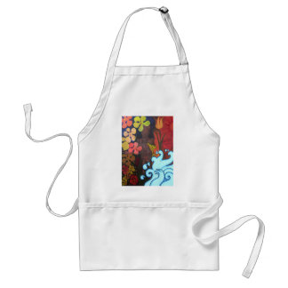 The Spring of the Secret Life Adult Apron