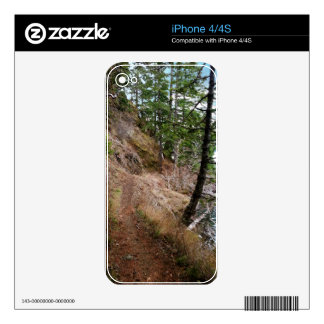 The Spruce Railroad Trail Olympic National Park Decals For The iPhone 4S