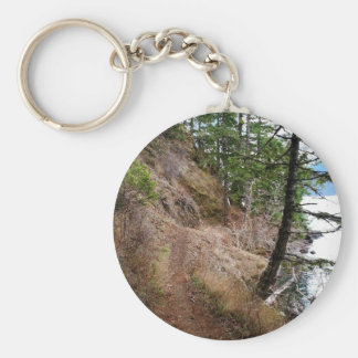 The Spruce Railroad Trail Olympic National Park Keychain