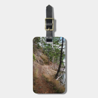 The Spruce Railroad Trail Olympic National Park Luggage Tag