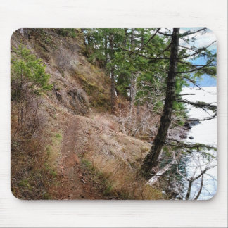 The Spruce Railroad Trail Olympic National Park Mouse Pad