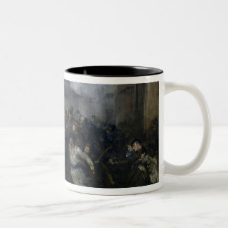 The Spy, Episode of the Siege of Paris, 1871 Two-Tone Coffee Mug