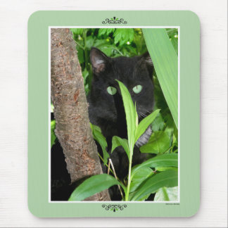 The Spy in the Garden Mousepad