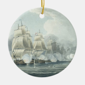 The Squadron under command of Sir F.T Duckworth fo Ceramic Ornament
