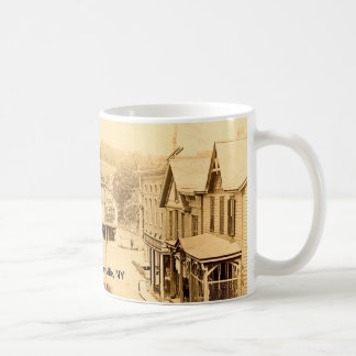 The Square ~ 1910 ~ Middle Granville, NY Mug