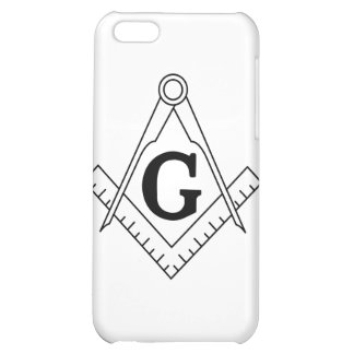 The Square and Compasses Freemasonry Symbol iPhone 5C Covers