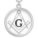 The Square and Compasses Freemasonry Symbol Necklaces