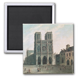 The Square in Front of Notre-Dame Magnet