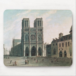 The Square in Front of Notre-Dame Mouse Pad