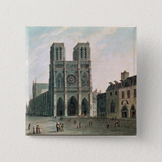 The Square in Front of Notre-Dame Pinback Button