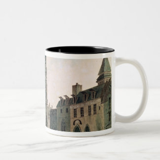 The Square in Front of Notre-Dame Two-Tone Coffee Mug
