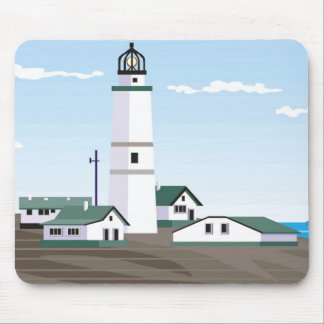 The Square Lighthouse - Mouse Pad