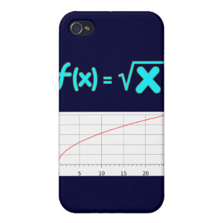 The Square Root Function f(x) = SQRT x iPhone 4 Cases