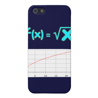 The Square Root Function f(x) = SQRT x iPhone SE/5/5s Case