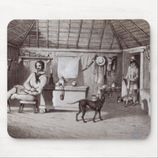 The Squatter's First Home, c.1847 Mouse Pad