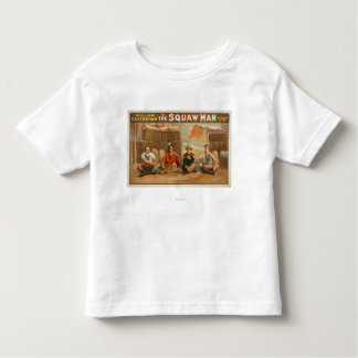 """""""The Squaw Man"""" - The Pipe of Peace Theatre Toddler T-shirt"""