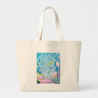 The Squid & the Spaghetti Tote Bags