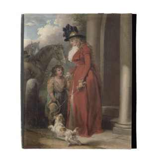 The Squire's Door, c.1790 (oil on canvas) iPad Cases