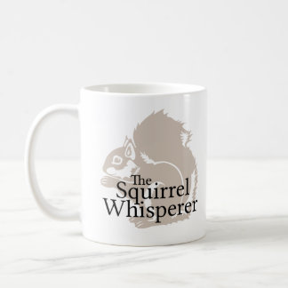 The Squirrel Whisperer Classic White Coffee Mug