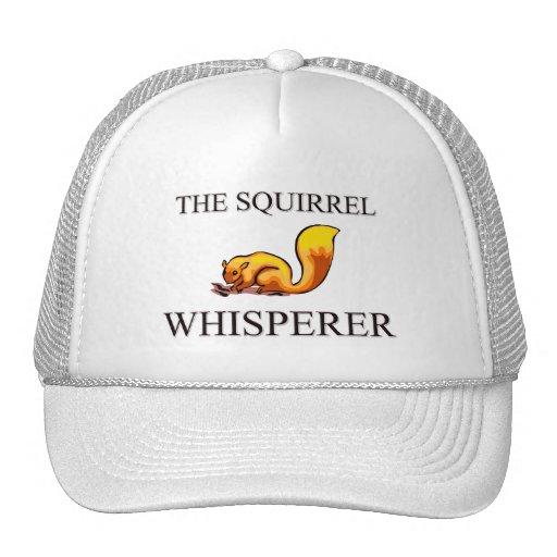 The Squirrel Whisperer Trucker Hats