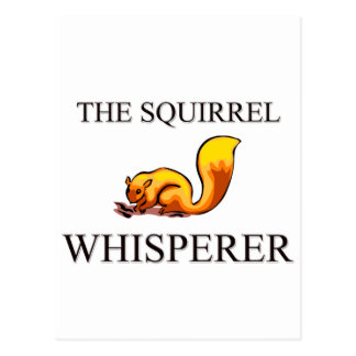 The Squirrel Whisperer Postcard