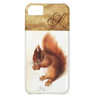 THE SQUIRREL WITH NUTS MONOGRAM iPhone 5C COVER