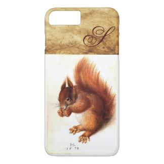 THE SQUIRREL WITH NUTS MONOGRAM iPhone 8 PLUS/7 PLUS CASE