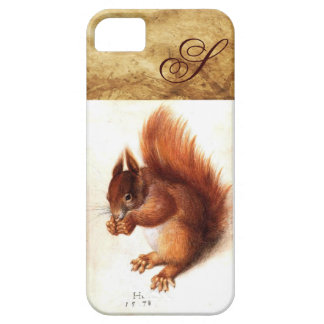 THE SQUIRREL WITH NUTS MONOGRAM iPhone SE/5/5s CASE