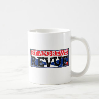 The St Andrews Revue Classic White Coffee Mug