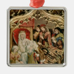 The St. Elizabeth Altarpiece Christmas Ornament