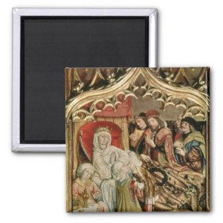 The St. Elizabeth Altarpiece Magnet