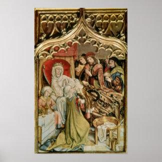 The St. Elizabeth Altarpiece Poster