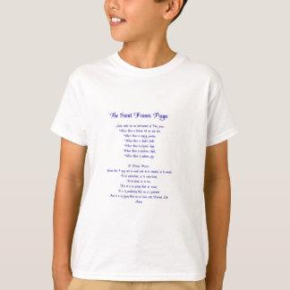 The St Francis Peace Prayer T-Shirt