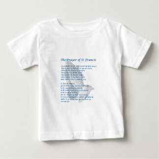 The St Francis Prayer Baby T-Shirt