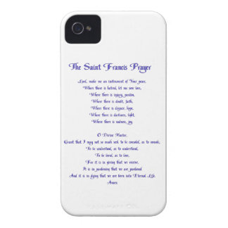 The St Francis Prayer Case-Mate iPhone 4 Case